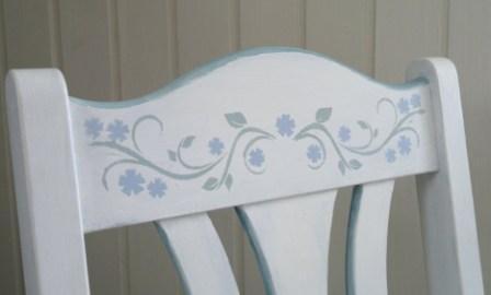 Bemalte Stühle unicum individuelle möbel